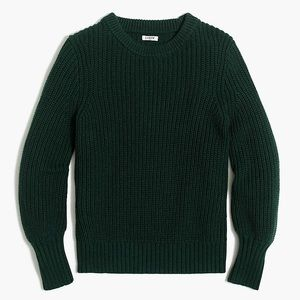 J. Crew Balloon-sleeve sweater